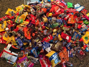 51lbs of Halloween Candy, 2015